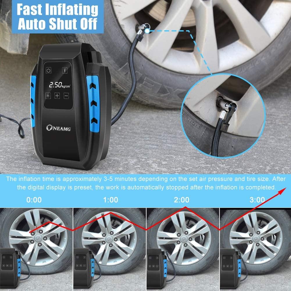 Gonfleur de pneus portatif Atmonas